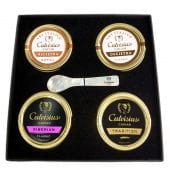 Calvisius: 4 Tin Gift Box  (50g)