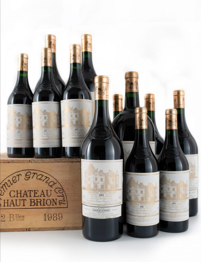 Lot 117-119: 12 bottles, 6 magnums, and 1 double magnum 1989 Chateau Haut Brion